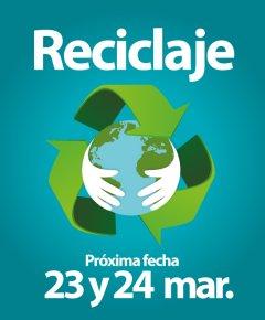 reciclaje marzo